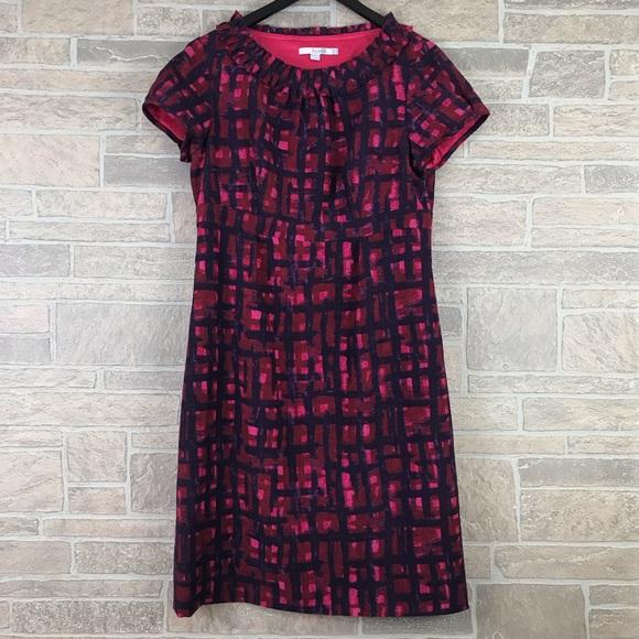 Boden Dresses & Skirts - Boden Pink Purple Wool Dress Short Sleeve U.S. 10